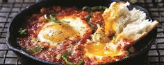 Spicy, Cheesy, Herby Eggs!