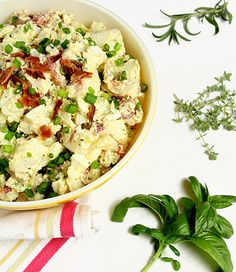 Sour Cream and Bacon Potato Salad — Creative Culinary - Food & Cocktail Recipes - Denver, Colorado