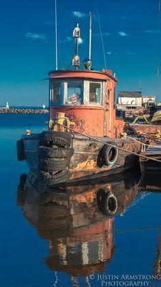 old tugboat