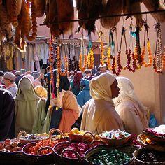 Souk des bijoutiers -maroc