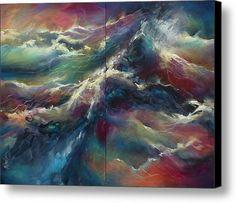 ' Neptunes Palette' Canvas Print / Canvas Art By Michael Lang