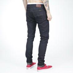 Jeans fra Nudie i økologisk bomull.