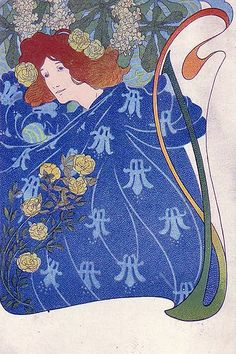 Woman in blue, via mpt.1607