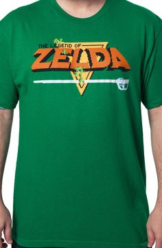Legend of Zelda T-Shirt: Vidoe Games Nintendo Zelda Shirt Cool Tees, Cool T Shirts, 80s Video Games, Cosplay Outfits, Casual T Shirts, Sweater Shirt, Legend Of Zelda, Fashion Prints, Dreams