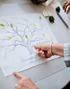 WeddingChannel Galleries: Thumbprint Guestbook
