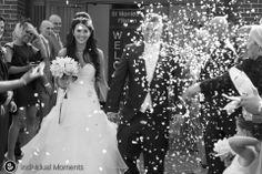 Love confetti shots https://www.facebook.com/individualmoments #wedding