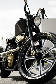 Great shot, decent bike - Black Beauty by Roland Sand Designs.