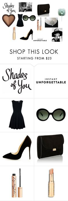 """Shades of You: Audrey Hepburn"" by alisafranklin on Polyvore featuring Oasis, Prada, Mansur Gavriel and Charlotte Tilbury"