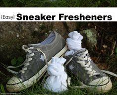 How to Make Natural Sneaker Fresheners (recipe)