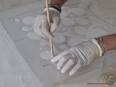 this article explains the Burn-out technique for creation of transparency Mosaic Patterns, Fabric Patterns, Fashion Design Degree, Textiles, Art Techniques, Burns, Create, Thesis, Fabrics