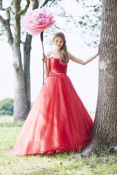 no.23766 - COLOR   新宿でウェディングドレスをレンタルするならブライダルサロンHANA