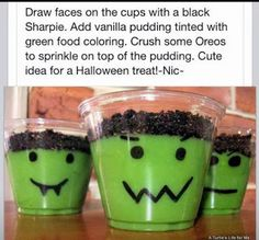 Halloween Party Food: Snacks, Desserts, and Drinks
