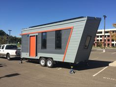 A net-zero tiny solar house. Winner of the Best Architecture award at the 2016 Sacramento Municipal Utility District (SMUD) Tiny House Competition.