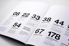 Contents pages   accessed 09/01/13  2012 Applied Arts Design Awards Annual by Blok Design , via Behance