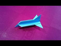 How to make a simple paper plane for kids, Cool paper airplane, Real paper airplanes, Paper Craft
