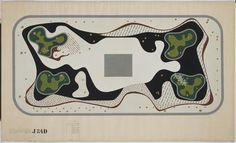 Roberto Burle Marx // Garden Design // Duque de Caxias Square // Rio de Janeiro // 1948