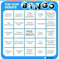 Get your bingo cards ready for the fifth GOP debate