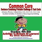 A must for every 4th and 5th grade classroom.  An excellent common core lesson on combining sentences with phrases, clauses and conjunctions.  Afte...