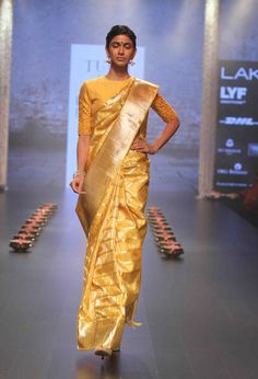 Tulsi Silks amazing Kanchivaram collections by desginer Santosh Parekh was showcased in Lakme Fashion Week and was well appreciated. Kanjivaram Silk Saree, Kanjivaram Silk saree review, Kanjivaram Silk saree price, Kanjivaram Silk saree offers, Kanjivaram Silk saree store, buy Kanjivaram Silk saree,