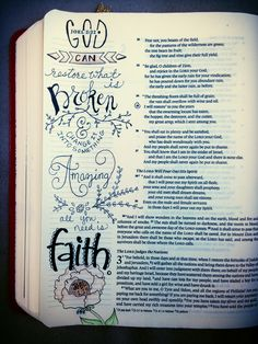 illustrated faith. Bible Journaling