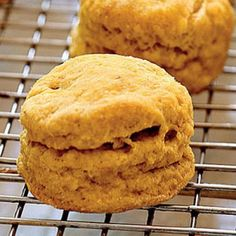 Spiced Pumpkin Biscuits | CookingLight.com