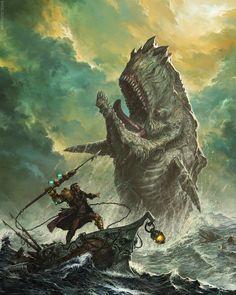 Captain Ahab by Josh Guglielmo | Steampunk | 2D | CGSociety
