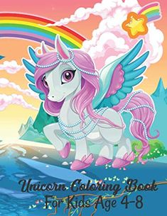 The Perfect #Gift for Children's This #Colorful #Unicorns Horse Lover #Coloring #Book for Kids to Improve Their Skills #Unicornbook #coloringbook #unicorn #amazonbook #books #bestbook #bestgift   #Rainbow #Kindergarten #Toddlers #Activity #Animal #Awesome #Cute #Magical #Fantasy #ColorfulUnicorns unicorn activity bookchildren's literature unicorn book Drawing Activities, Book Activities, Unicorn Books, Rainbow Unicorn, Colorful Drawings, Drawing For Kids, Good Books, Coloring Books, Age