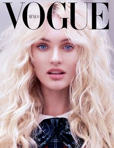 Candice Swanepoel on the cover of Vogue Mexico's September 2013 Issue