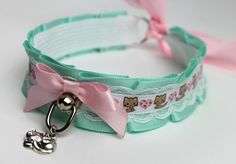 baby-perv:  kittensplaypenshop:  littlehappyhaunt:  @kittensplaypenshop do you know if you will be re-stocking this in smaller sizes? I'm in love with the ribbon :)  I will see if we can! I have Kathleen @elf-fetus who's in packing that wants to learn to make collars..and I am sure she'd be more than happy to make this when she is ready for a collar this advanced! <3 :3  Kitty Num Num is restocked ! <3