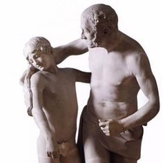 "Antonio Canova Daedalus and Icarus 1777-1779 Venezia Museo Correr  ""Dedalo e Icaro (da Ovidio a Matisse)"": http://ift.tt/2CaCQ5O  #art #arthistory #icarus #yearend #painting"
