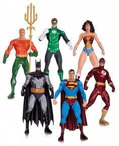 Justice League Action Figure 6-Pack Alex Ross