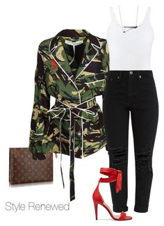 Untitled #387 by sherristylz on Polyvore featuring polyvore fashion style Off-White Vince Sydney Evan clothing