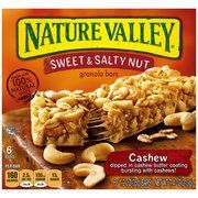 Nature Valley Sweet  Salty Nut Cashew Granola Bars 12 Oz 6 Count Pack of 3 * Check out the image by visiting the link.Note:It is affiliate link to Amazon.