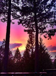 Sunset at Cascade.