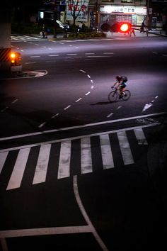 'The Loneliness of the Cyclist' by Jürgen Bürgin on artflakes.com as poster or art print $24.95