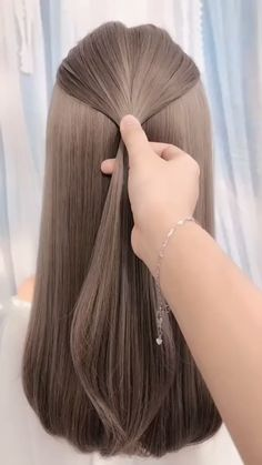 Hairstyles easy hairstyles for long hair videos Girl Hairstyles, Braided Hairstyles, School Hairstyles, Office Hairstyles, Hairstyles Videos, Anime Hairstyles, Stylish Hairstyles, Hairstyle Short, Hair Updo