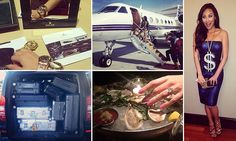 Private jets, Prada shoes and thousand-dollar freebies: Inside the 'funemployed' life of Rich Kids Of Beverly Hills star and heiress to a multi-billion Chinese fortune