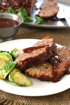 Low Carb Slow Cooker BBQ Meatloaf