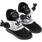 Adidas Original's Jeremy Scott Gorilla Shoes - Slip On The Fierce Jungle Vibe With A Furry Gorilla On Yo Feet ~