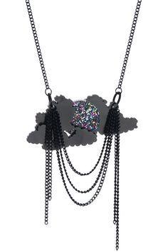 Halcyon Skies Small Necklace - Dark £33 (sale £23.10) - SS11 Astral Haze