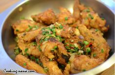 Chinese Salt and Pepper Chicken Wings