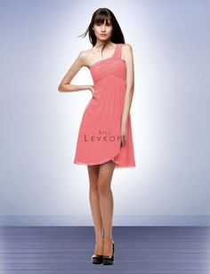 Bridesmaid Dress Style 105 coral
