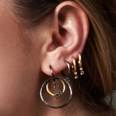 Today's #earspiration, a right earful (all from our Hoopla collection)