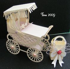 Craft Robo Gsd File Template Old Fashioned Pram & Canopy