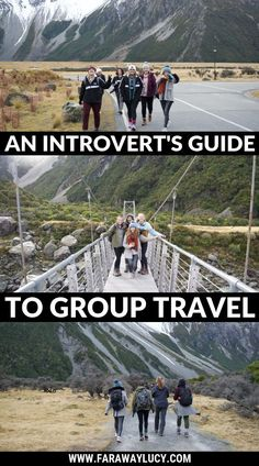 An Introverts Guide to Group Travel: I prefer solo travel as an introvert but these are some good tips for surviving group travel! You can also check out my Top 5 Travel Tips for Introverts at theglobalgadabout Travel Tours, Travel Advice, Travel Guides, Travel Destinations, Travel Hacks, Usa Travel, Travel Gadgets, Travel Packing, Group Travel