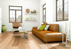 Robin Wood Authentic Landhausdiele » Eiche astig gebürstet, matt versiegelt, 2V « mit matt versiegelter Oberfläche  #robinwood #parkett #holzboden #eiche #landhausdiele #SONNHAUS #raumausstattung #einrichtungshaus