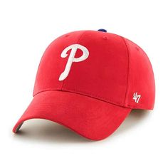 huge selection of 5958e ee459 Philadelphia Phillies KIDS 47 Brand Red MVP Adjustable Hat