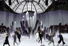 Transplanted Trees, Paper Kingdoms, and Flames: The Best Fashion Week Set Design - The Cut