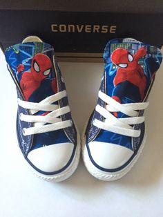 Spiderman Converse Shoes Kids Spider-Man Shoes Avengers