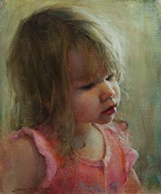 Innocence by Jon McCartin was selected as a Finalist in the February 2014 BoldBrush Painting Competition. Oil Portrait, Female Portrait, Portrait Paintings, Art Paintings, Art Painting Gallery, Painting Competition, Examples Of Art, Artwork Images, Best Portraits